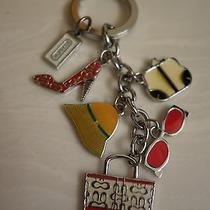 Coach Multicolor Mix Keychain Cute Photo
