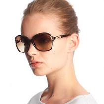 Coach Natasha Sunglasses in Dark Olive Oversized Butterfly Jackie Onassis Style Photo