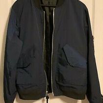 Coach Navy Bomber Jacket Photo
