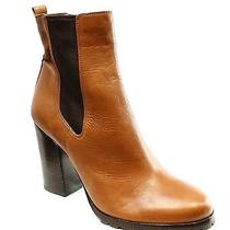 Coach New Brown Women's Shoes Size 8 Fashion - Ankle Leather Boots 348- Deal Photo
