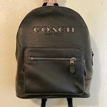Coach New York Backpack Black Leather Photo