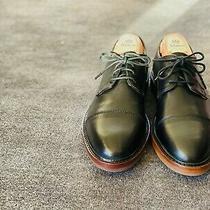 Coach New York Garrison Soft Port Men's Black Oxford Shoes Alden Thursday 7.5 Photo