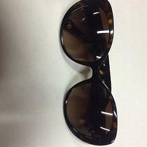 Coach New York Woman's Dark Tortoise Sunglasses Photo