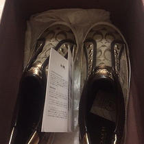 Coach Nib Sz 10m Woman's Slip on Sneakers Photo