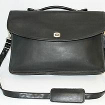 Coach No. H03-5265 Vintage Lexington Professional Leather Briefcase / Laptop Bag Photo