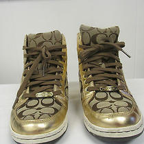 Coach Norra Gold Shoes Photo