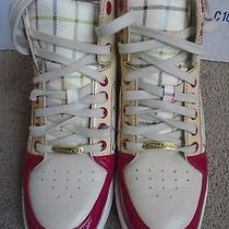 Coach Norra High Top Multi Color Women's Casual Fashion Sneakers Size 8.5m Photo