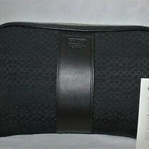Coach Nwt 2008 Mini Signature Beauty Case Cosmetic Travel Bag 05094 Photo