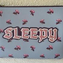 Coach Nwt 73272 Disney X Sleepy Snow White Collection Large Zip Tablet Case   Photo