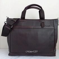 Coach  Nwt F71347 Camden Leather Supply Bag Mahogany/dark Mahogany Photo