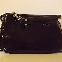 Coach Nwt Small Wristlet Mahogany Leather Wallet Clutch Brown F47782 Photo