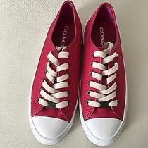 Coach Nylon Sneakers  Size 7 Lace Up Photo