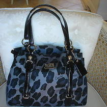 Coach Ocelot Satchel Handbag 15778 Photo