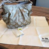 Coach Op Art Parker Shoulder Handbag Purse Photo