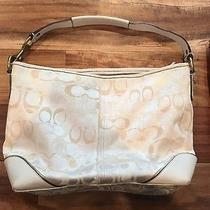 Coach Op Art Signature C Sarah Shoulder Tote Handbag Purse Style F15667 Photo