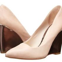 Coach Orchard Wedge Shoes Color- Tan Cream Peach  Size-7.5 Nwb New 245 Photo