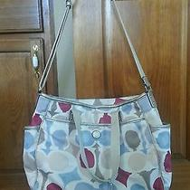 Coach Painted Signature Multifunction Diaper Baby Bag Tote 19910 Rare Photo