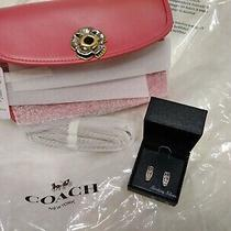 Coach Parker Crossbody Pewter-Aurora 89287 Original Packaging With 250 Earrings Photo