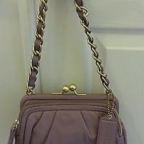 Coach Parker Leather Clutch Price  Reduced Photo