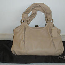 Coach Parker Leather Satchel 458 Handbag Photo