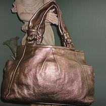 Coach Parker Leather Satchel Handbag Nice and Beautiful Photo