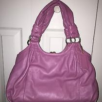 Coach Parker Leather Satchel in Violet/rose - 13437 With Tags Photo