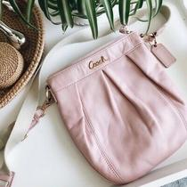 Coach Parker Pink Leather Gold Hardware 7