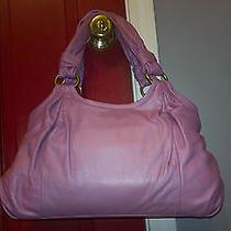 Coach Parker Satchel Bag Rose Pink Mauve 13437 Kisslock Photo