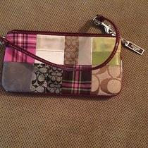 Coach Patchwork Pink Very Rare Photo