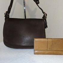 Coach Patricia Legacy Leather Crossbody Messenger Bag W/bonus Wallet Photo