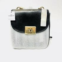 Coach Pebble Leather Cassidy Backpack Purse F76690 Imblk Black Gold Nwt Photo