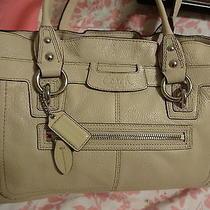 Coach Penelope Shoulderbag/satchel in Guc Ink on Back Photo