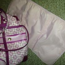 Coach Pink Baby Bag Photo