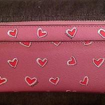 Coach Pink Heart Wallet Photo