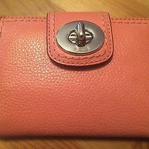 Coach Pink Leather Wallet Photo