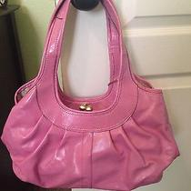 Coach Pink Patent Leather Satchel Photo