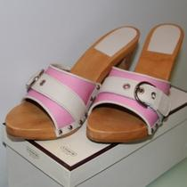 Coach Pink Sandals (In Box) - Rare Photo
