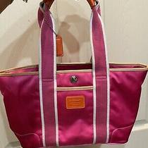 Coach Pink Tote Bag Photo