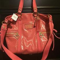 Coach Pink Tote Summer Bag Photo