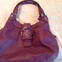 Coach Plum Purple Hobo Photo