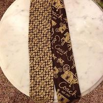 Coach Ponytail Scarf 100% Silk New With Tags Photo
