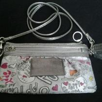 Coach Poppy Crossbody Graffiti Wristlet Photo