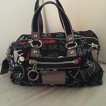 Coach Poppy Graffiti Hearts Purse Photo