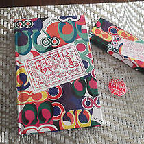Coach Poppy Journal Book and Matching Pencil Set (Launch of Poppy Line) Photo