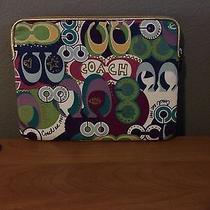Coach Poppy Laptop Case Photo
