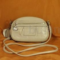Coach Poppy Leather Bean Bag Cross Body Style 45507 Nwt Photo