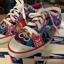 Coach Poppy Multicolor Barrett Sneakers Sz 8 Photo