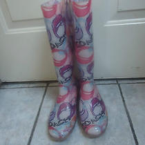 Coach Poppy Rain Boots Size 6 Photo
