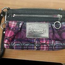 Coach Poppy Wristlet in Excellent Condition Photo