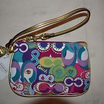 Coach Poppy Wristlet Iphone 5 Case Multi Color for Tote Hobo Shoulder Bag Photo